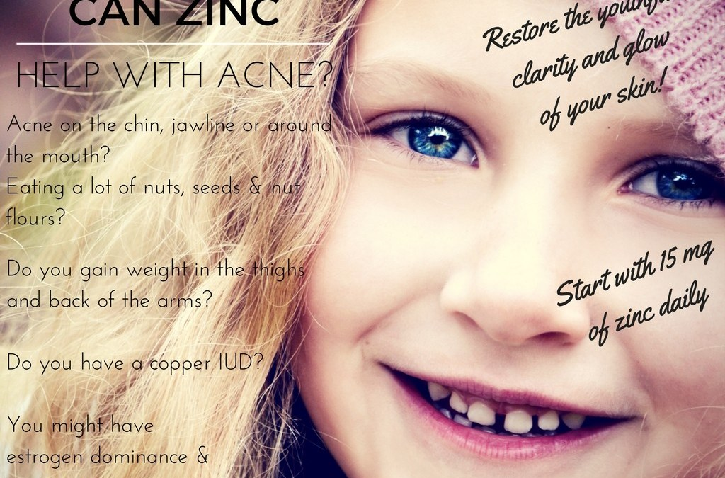 CAN ZINC HELP WITH ACNE?