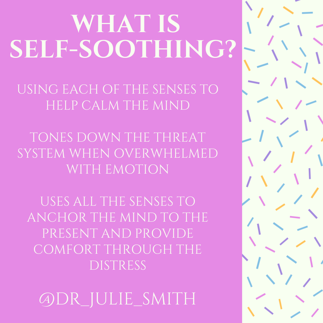What is Self-Soothing?