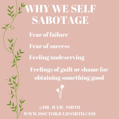 Why we self-sabotage