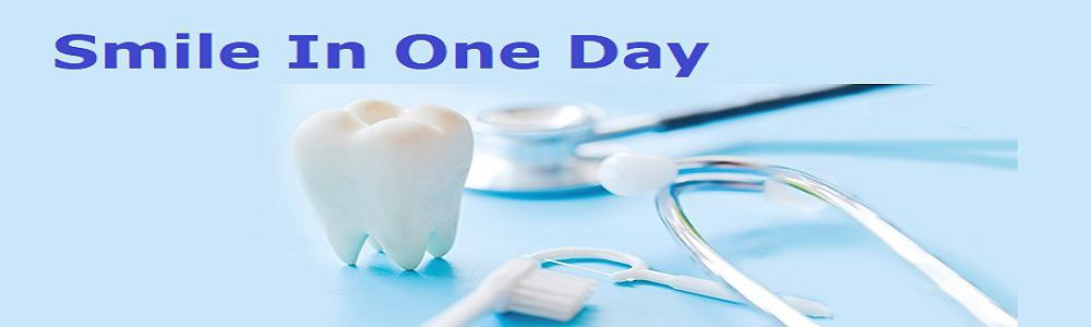 Image of teeth in a day or permanent instant dental implants