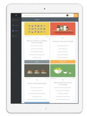 omada health prevent ipad screenshot