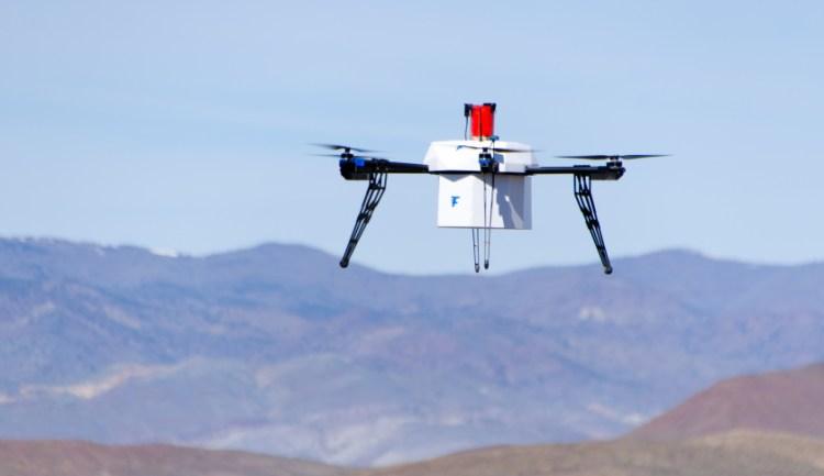 flirtey medical drone delivery