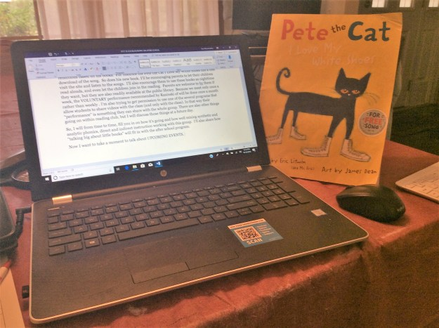 MY COMPUTER & PETE THE CAT