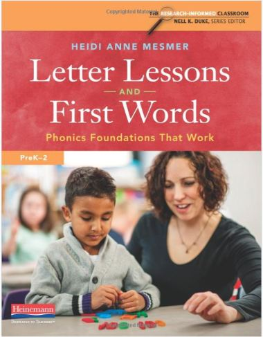 Letter Lessons & First Word