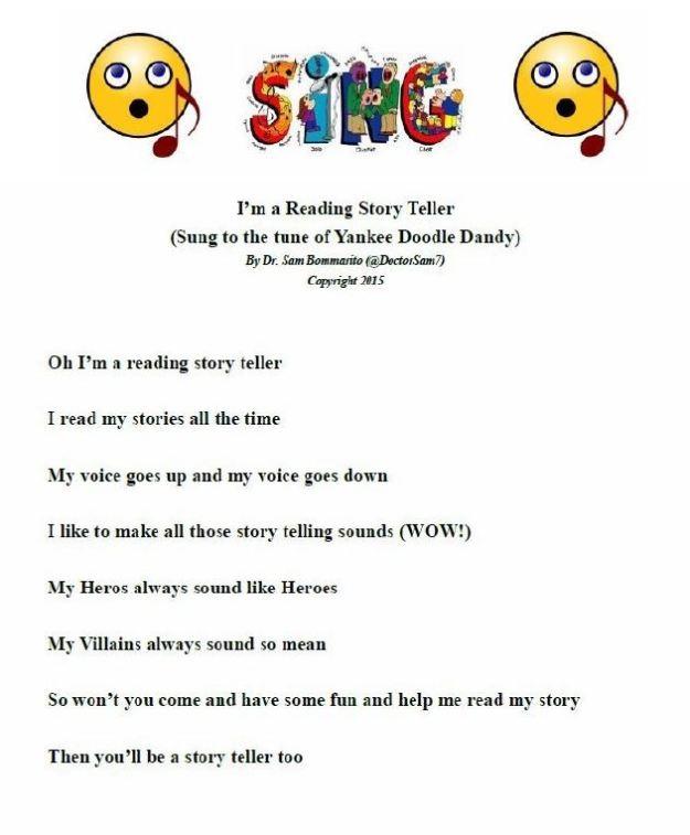 READING STORY TELLER