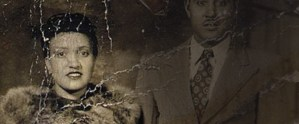 A old weathered portrait of Henrietta Lacks