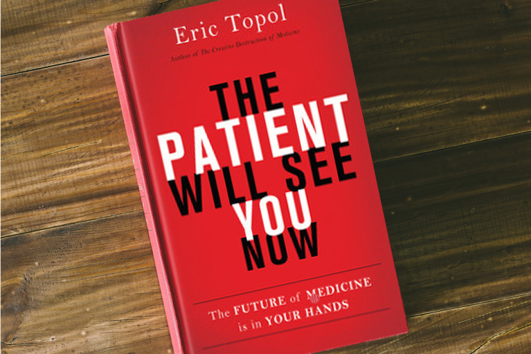 The cover of the book The Patient Will See You Now by Eric Topol