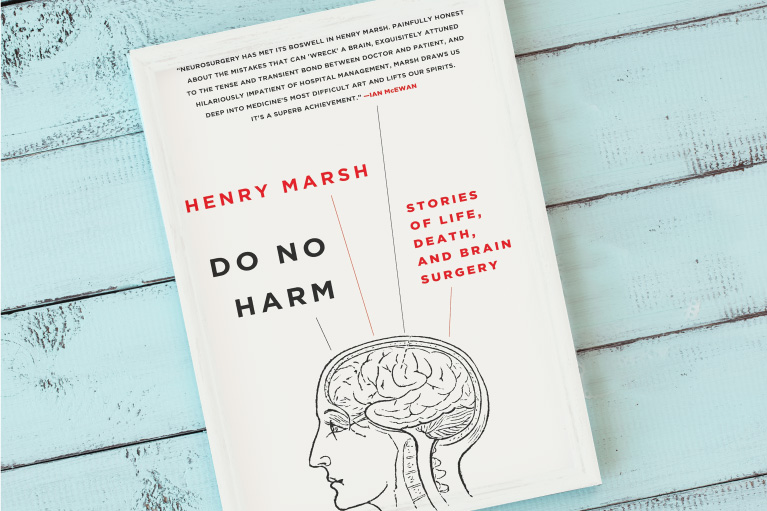 A photo of the book Do No Harm by Henry Marsh