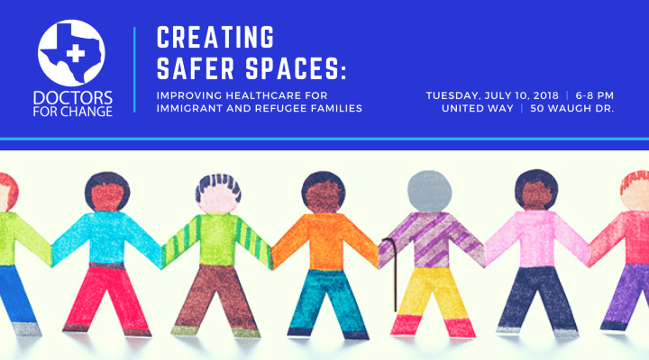 "Jul. 10: ""Creating Safer Spaces: Improving Healthcare for Immigrant and Refugee Families"""