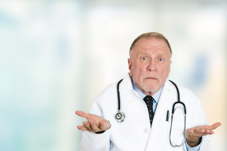 Doctor is stumped