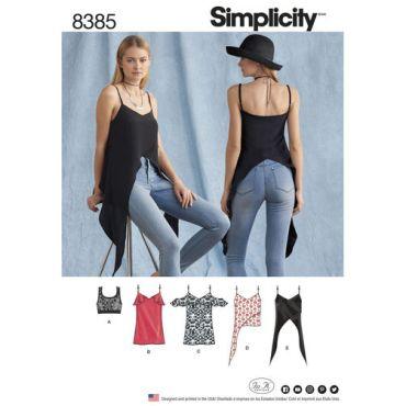 simplicity-shirt-dress-pattern-8385-envelope-front