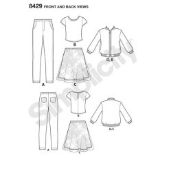 simplicity-children-bomber-pattern-8429-front-back-view