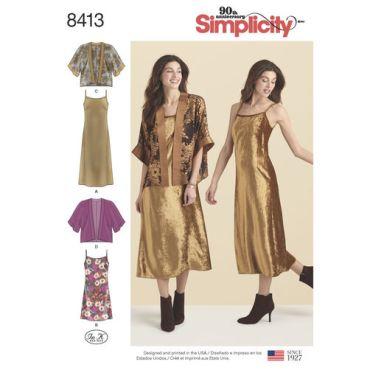 simplicity-kimono-dress-miss-pattern-8413-envelope-front