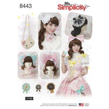 simplicity-lolita-hats-pattern-8443-envelope-front