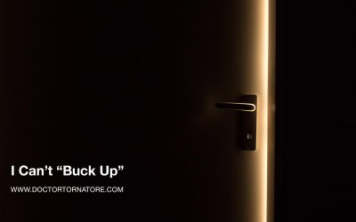 "I Can't ""Buck Up"""