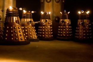 Picture shows: The Daleks