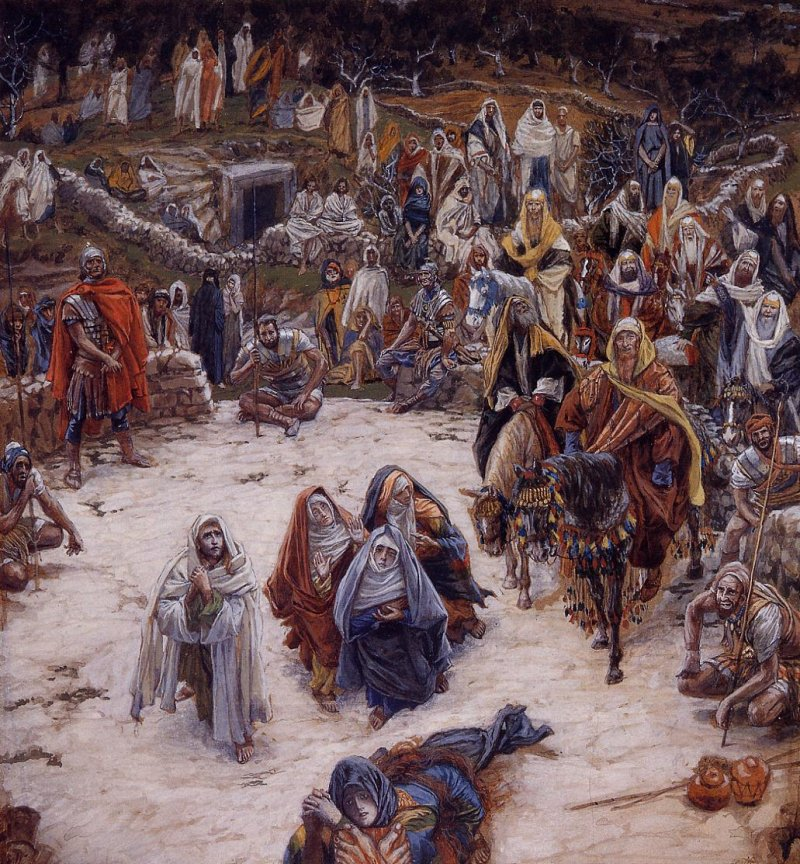 View From The Cross by James Tissot Cir.1886-94