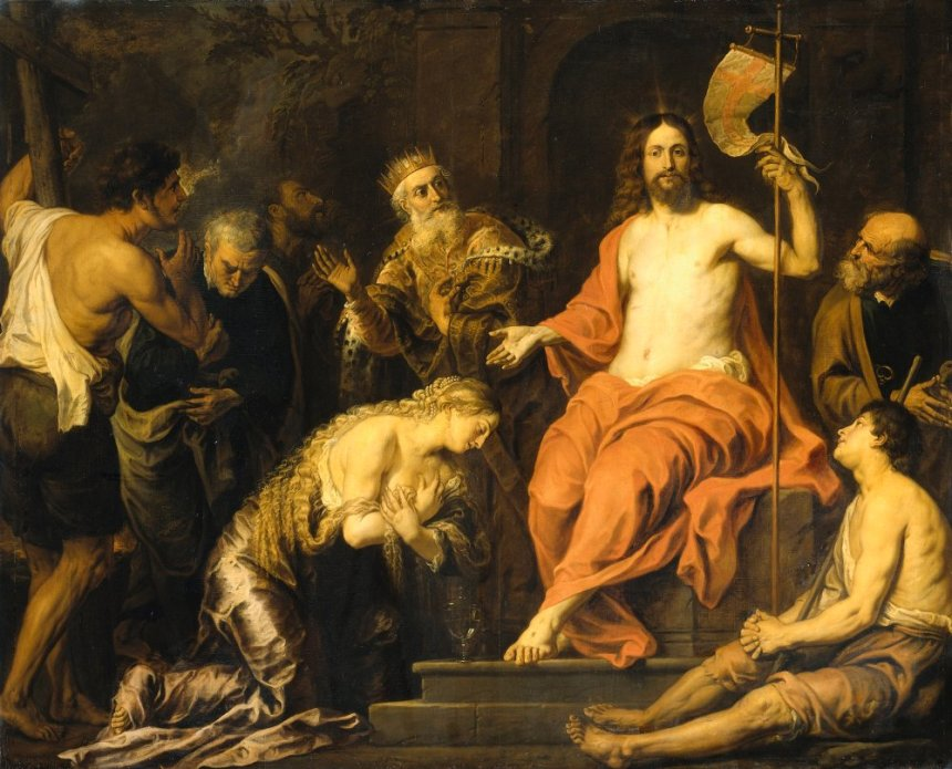 Christ and the Penitent Sinners by Gerard Seghers Cir 1535