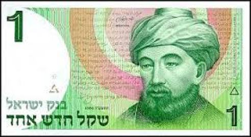 From Israeli Bank Note