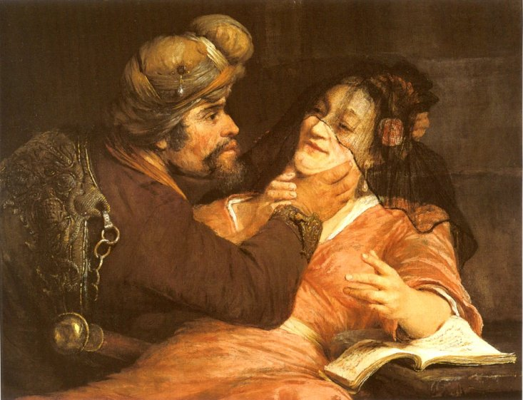 Judah and Tamar by Arent de Gelder Cir 1667