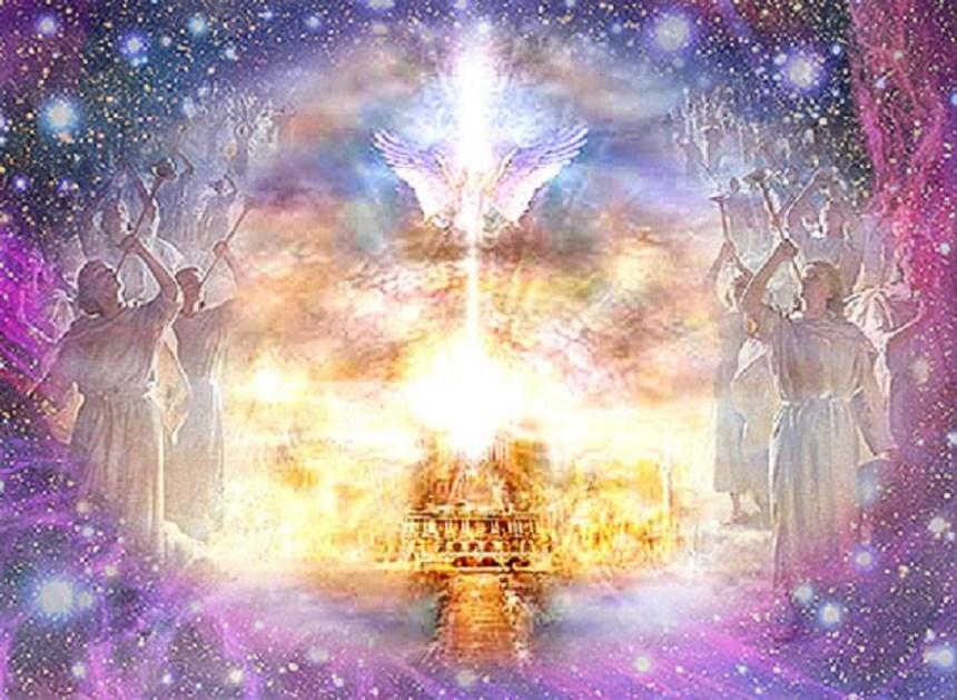Heavens opened - Artist Unknown
