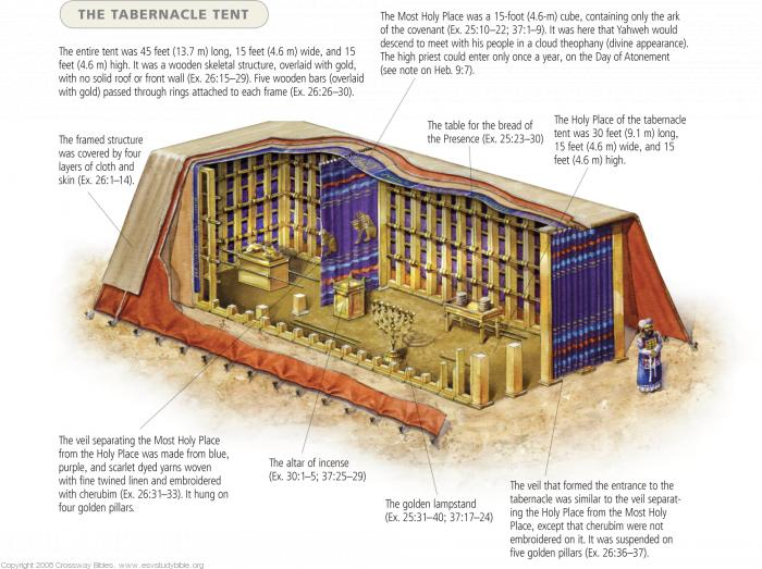 Tabernacle Cutaway from divinerevleations.info