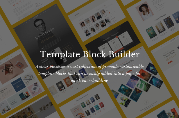 Auteur – WordPress Theme for Authors and Publishers - 16