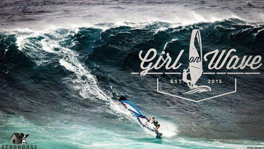 Girl on Wave