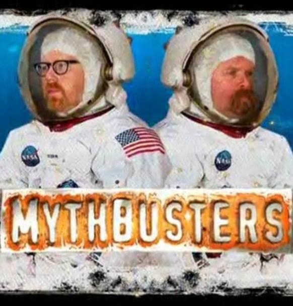 Resultado de imagen para mythbusters moon