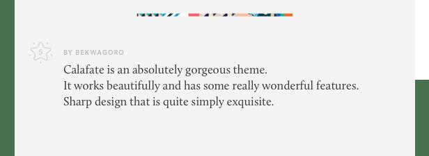 Calafate - Portfolio & WooCommerce Creative WordPress Theme - 12