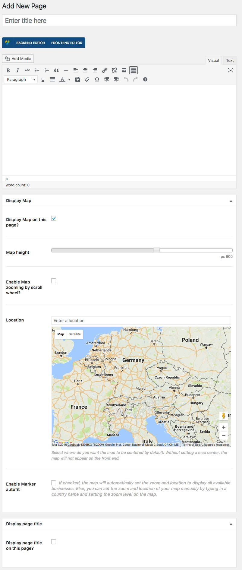 page-map-settings