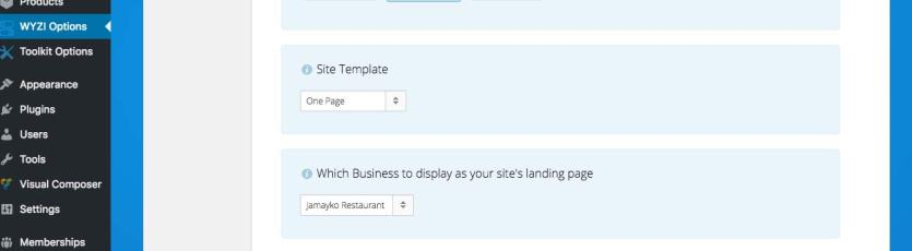 site-template