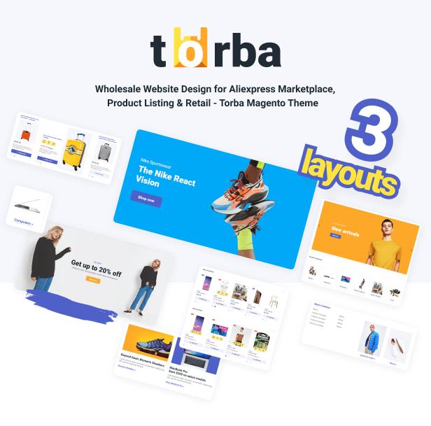 Torba - Wholesale Magento Theme - 2