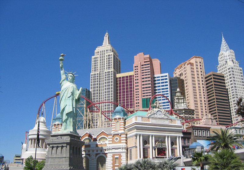 Las Vegas Skyline New York