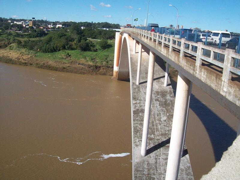 Ponte da Amizade Brasil Paraguai