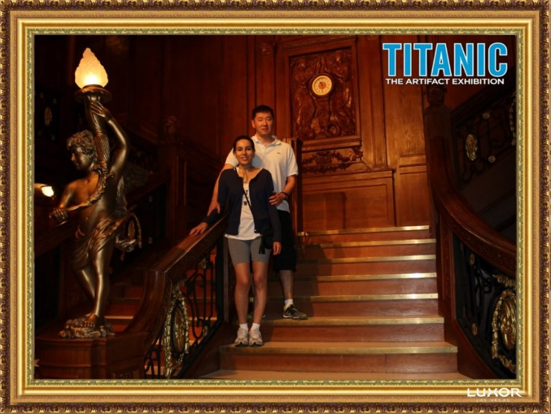 Titanic The Artifact Exhibition Luxor Las Vegas