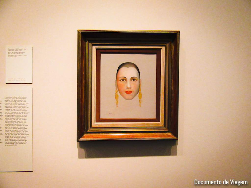 Auto-retrato - Tarsila do Amaral (1924)