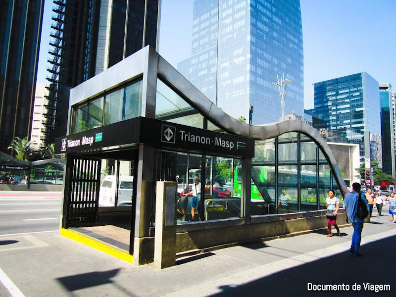 Estação Metrô Trianon-Masp