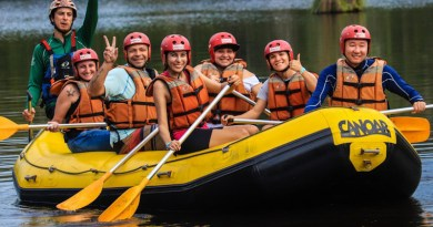 Onde praticar rafting