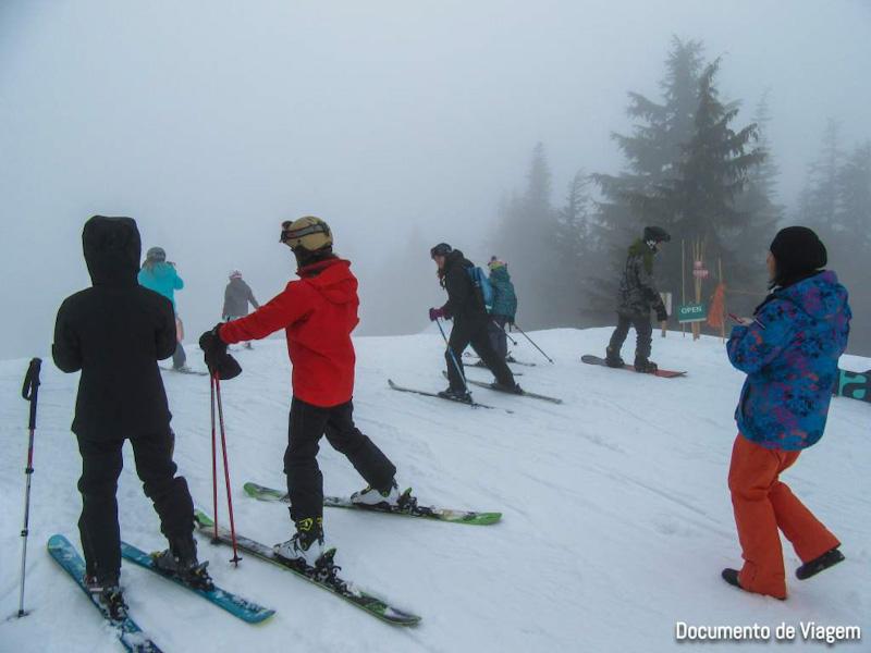 Onde esquiar em Vancouver