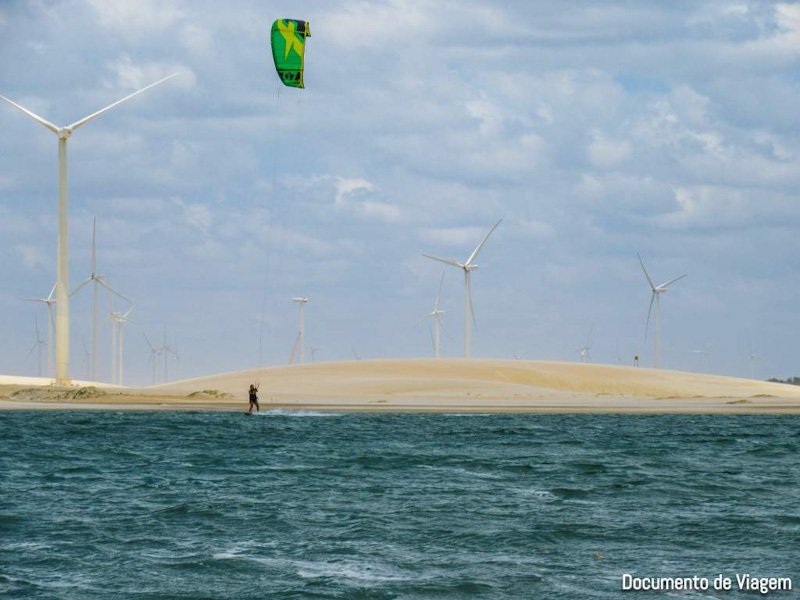 Kite surf Galinhos, RN