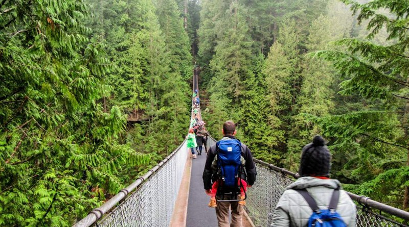 Como ir a Capilano Suspension Bridge