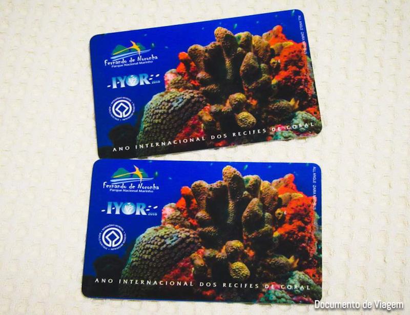Cartão de acesso Fernando de Noronha