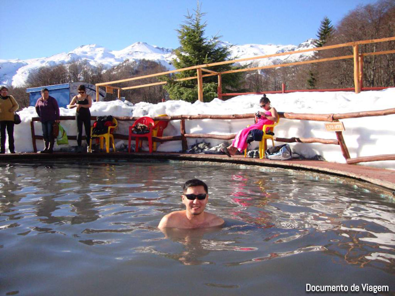 Valle Hermoso água termal