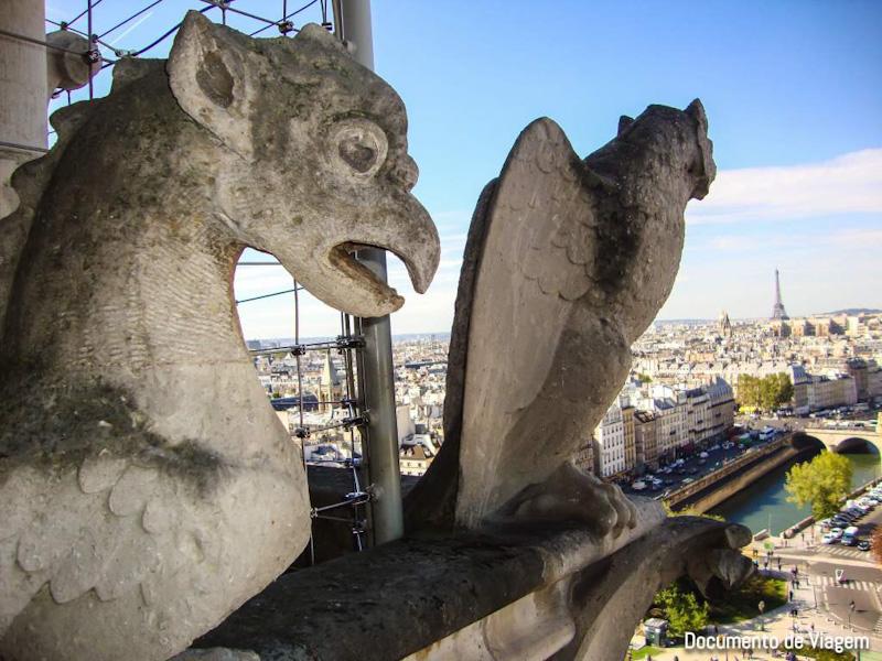 Gárgulas da Catedral de Notre-Dame