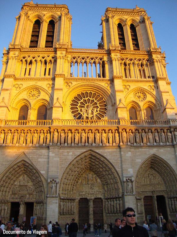 Como era a catedral de Notre Dame