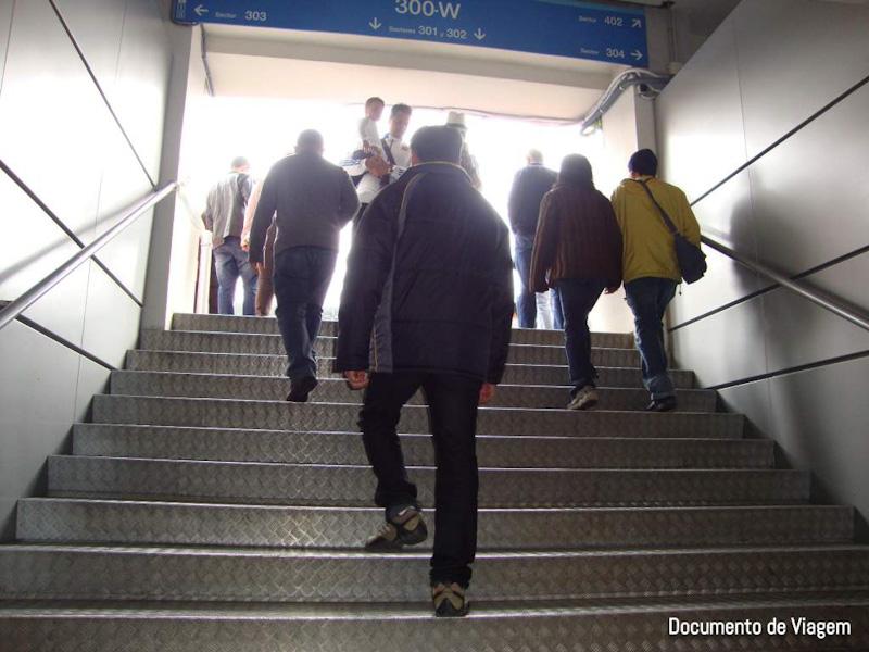 Santiago Bernabéu visitação