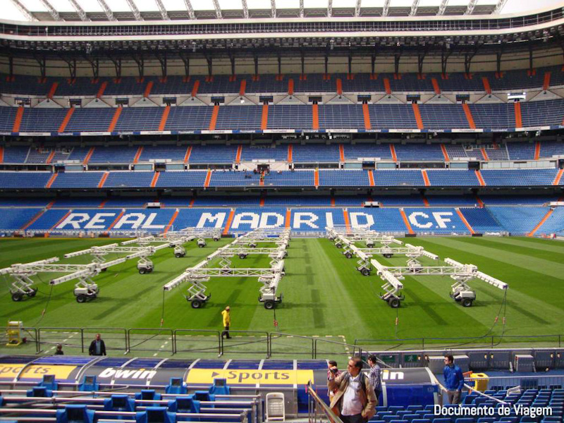 Visita estádio Real Madrid