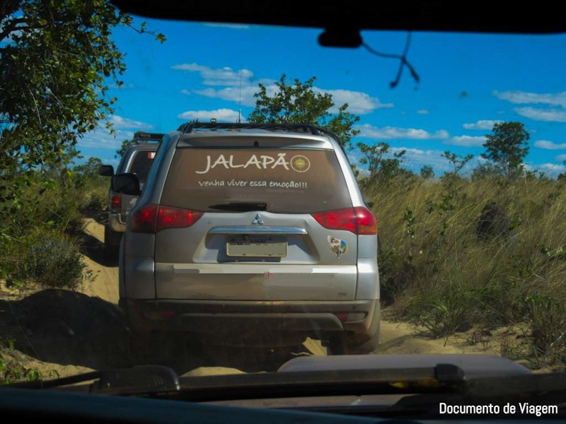 Veículo 4x4 Cerrado Brasileiro