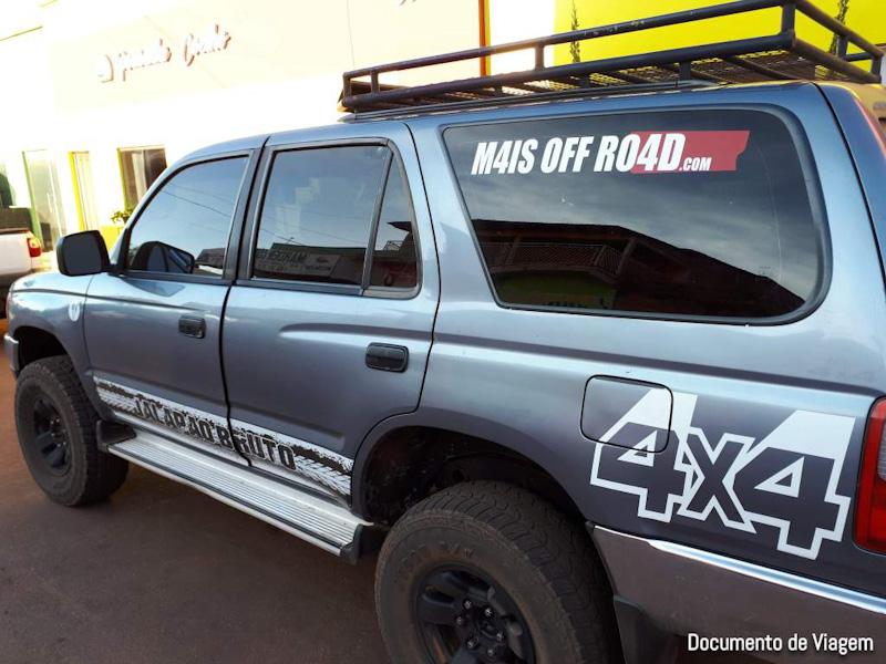 Veículo 4x4 da Jalapão Oficial